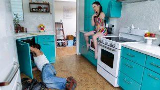 Tamircinin Eline Düşüne Uslanmaz Ev Sahibi Sert Sikişiyor