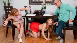 Evli Adamı Masa Altından Yalayan Liseli Ortalığı Karıştırdı